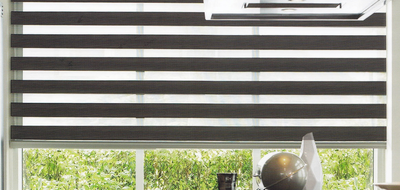 Luxaflex Essential Multishade Grey and Black